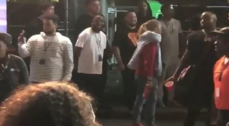 """Lil Pump Dances to J. Cole's """"1985"""" at 2018 Rolling Loud Festival"""