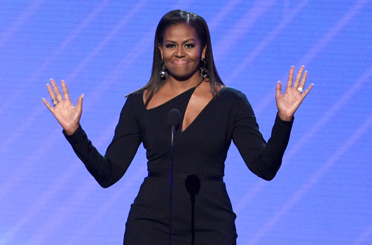 Michelle Obama Allegedly Influenced 'Roseanne' Cancellation