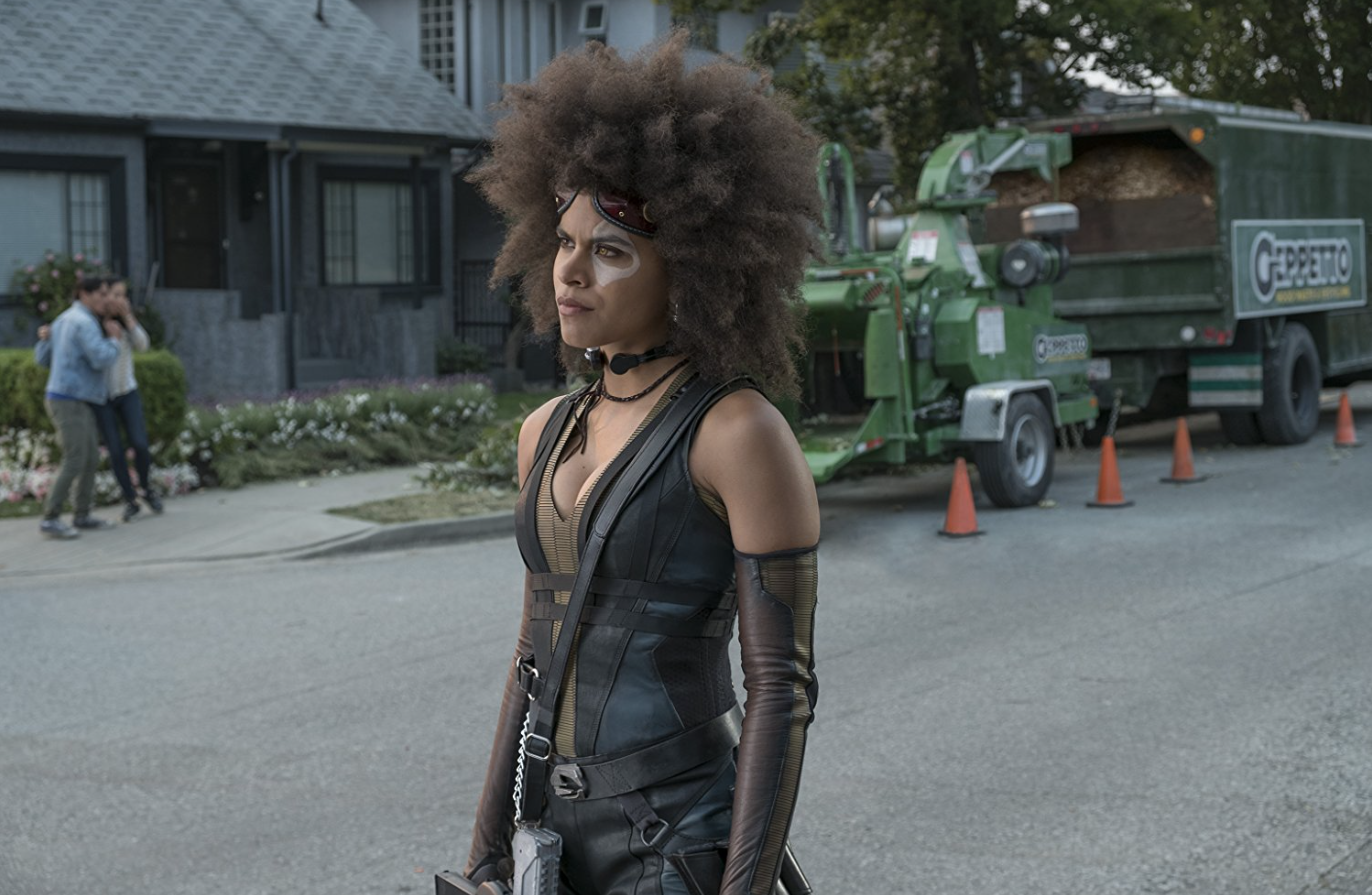 6ec406083f3 Zazie Beetz Steals the Show As the Incredibly Lucky Domino in  Deadpool 2
