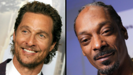 Snoop Dogg Swapped Matthew McConaughey's Prop Weed With Real Weed on Set of 'The Beach Bum'