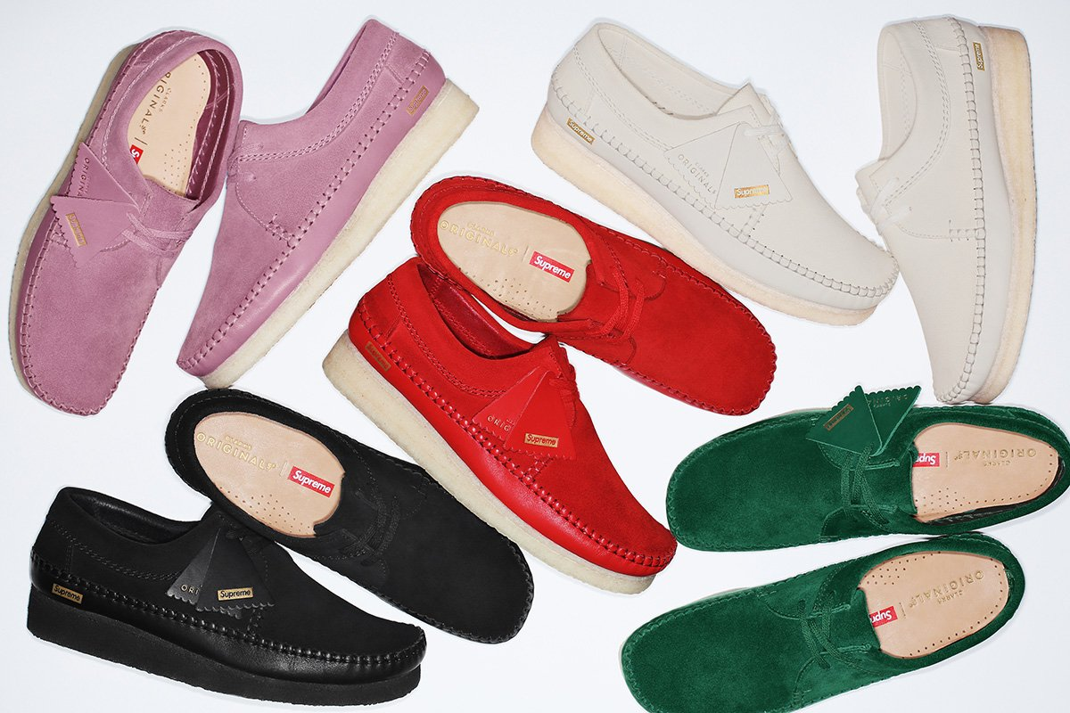 184cb6ac1e67 Shop Now  Supreme x Clarks Originals Spring Summer 2018 Footwear Collection
