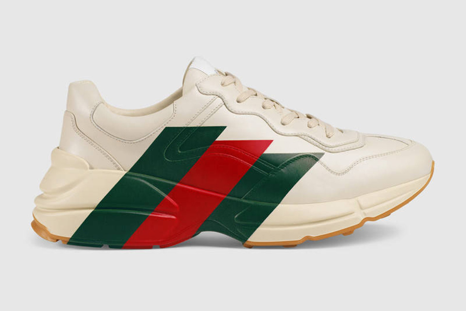 ae343ba9171 Gucci Is On The Chunky Sole Wave With Its Pre-Fall 2018 Rhyton Sneaker