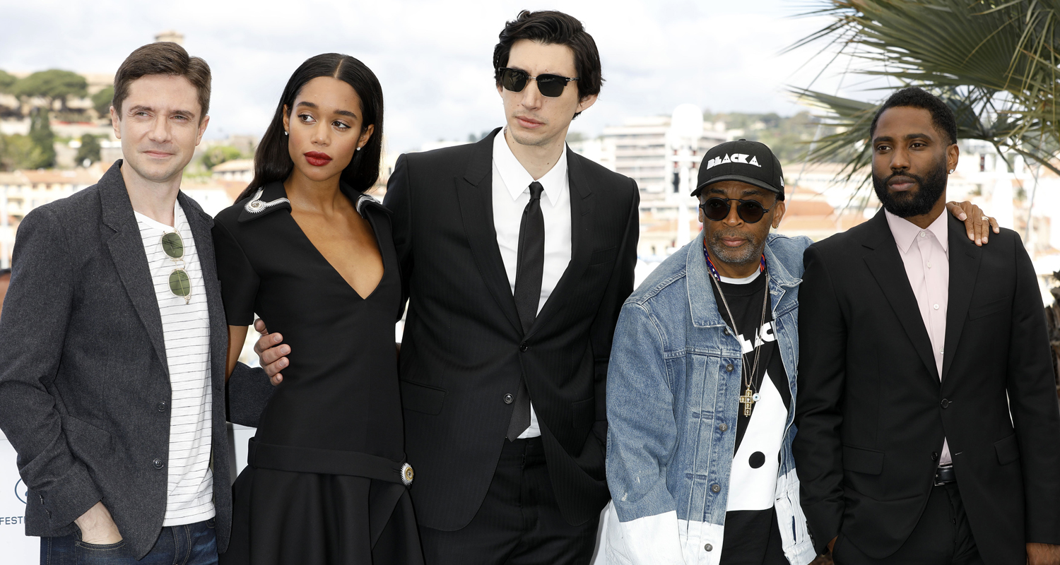 harrier blackkklansman pcannes