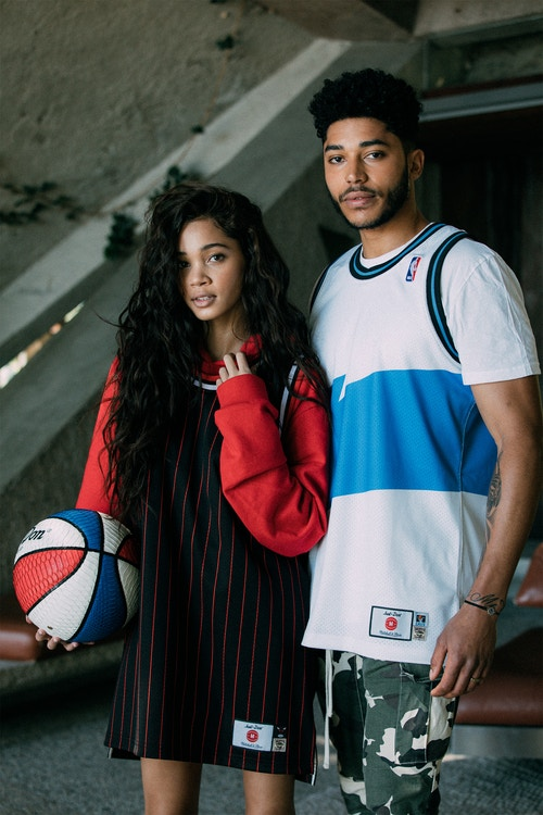 """f62c529a49764 Mitchell & Ness Links With Just Don For a """"No Name"""" Jersey Collection"""
