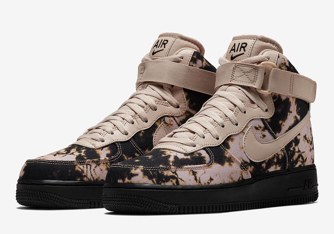 de39d54618 These Acid-Washed Nike Air Force 1 s Are Dripping With Style