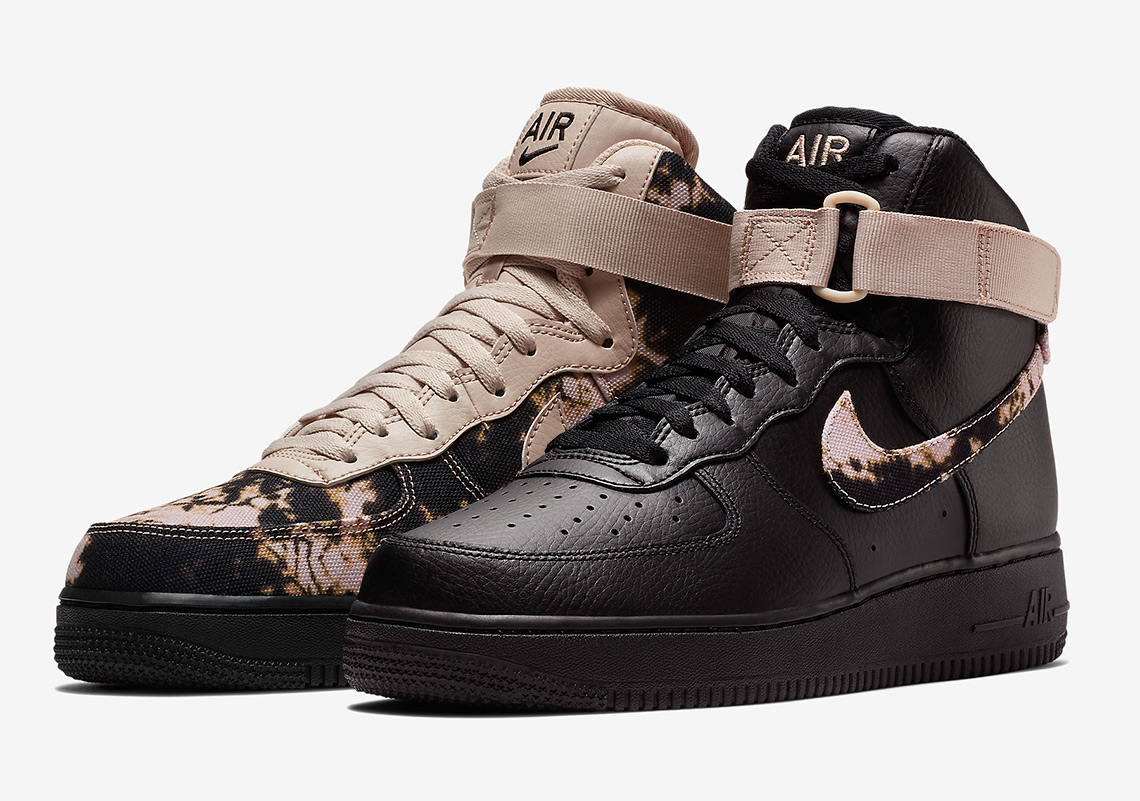 these acid washed nike air force 1 39 s are dripping with. Black Bedroom Furniture Sets. Home Design Ideas
