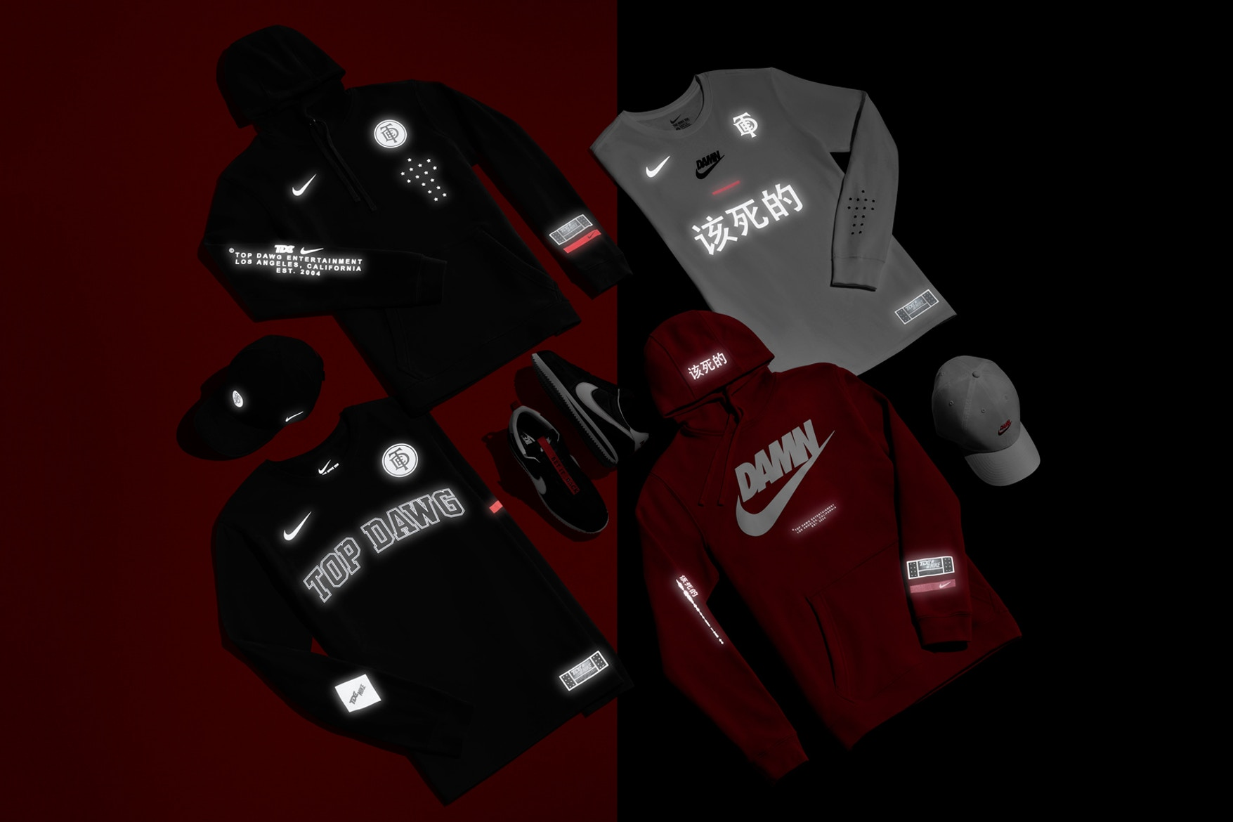 a22f503f Footwear and apparel will make up this nice set of gear, including the  standout Nike Cortez Kenny III we saw TDE president Dave Free preview on  Instagram a ...