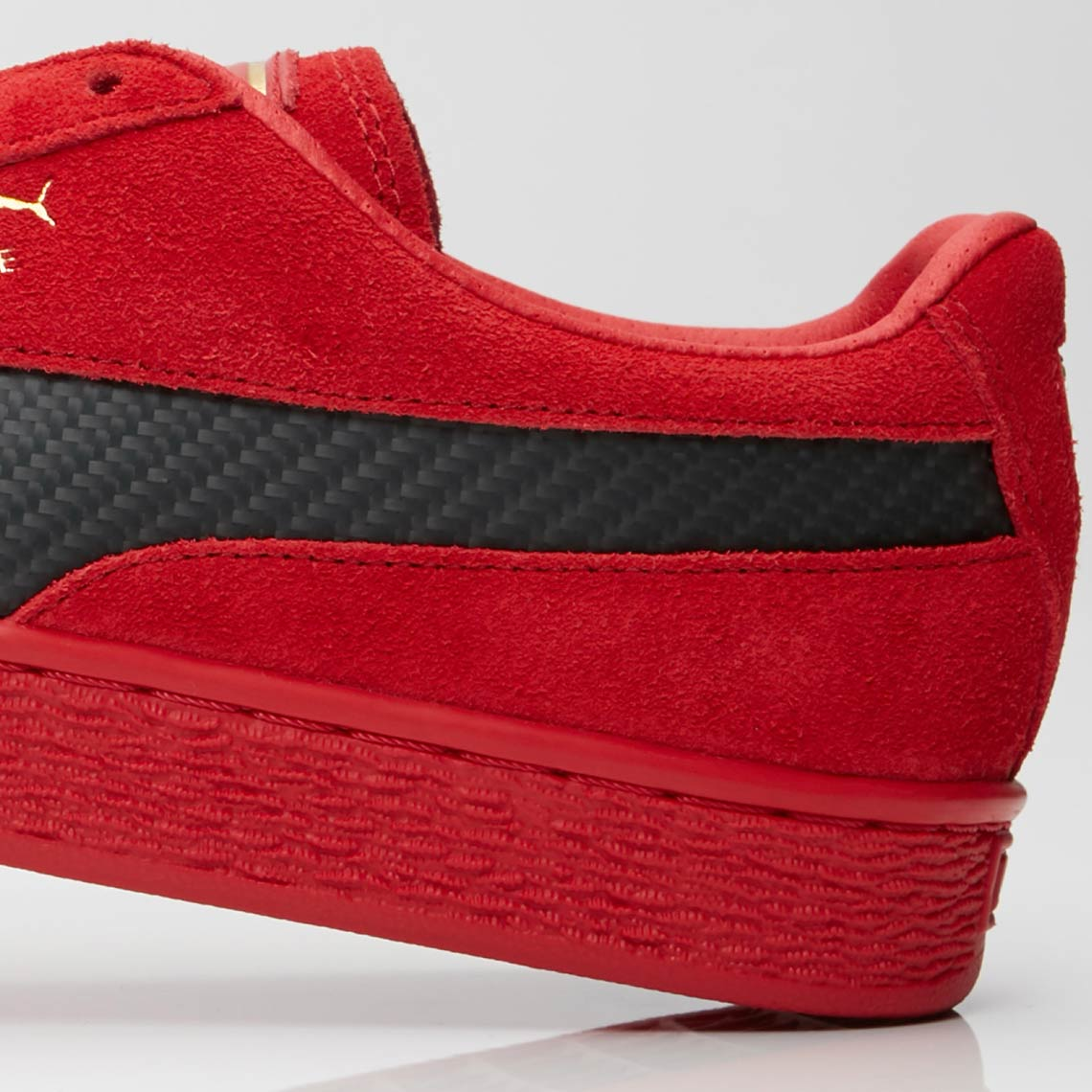 6286a9eb7982 Pick up the Ferrari x PUMA Suede 50 collaboration for  100 USD at select  stockists