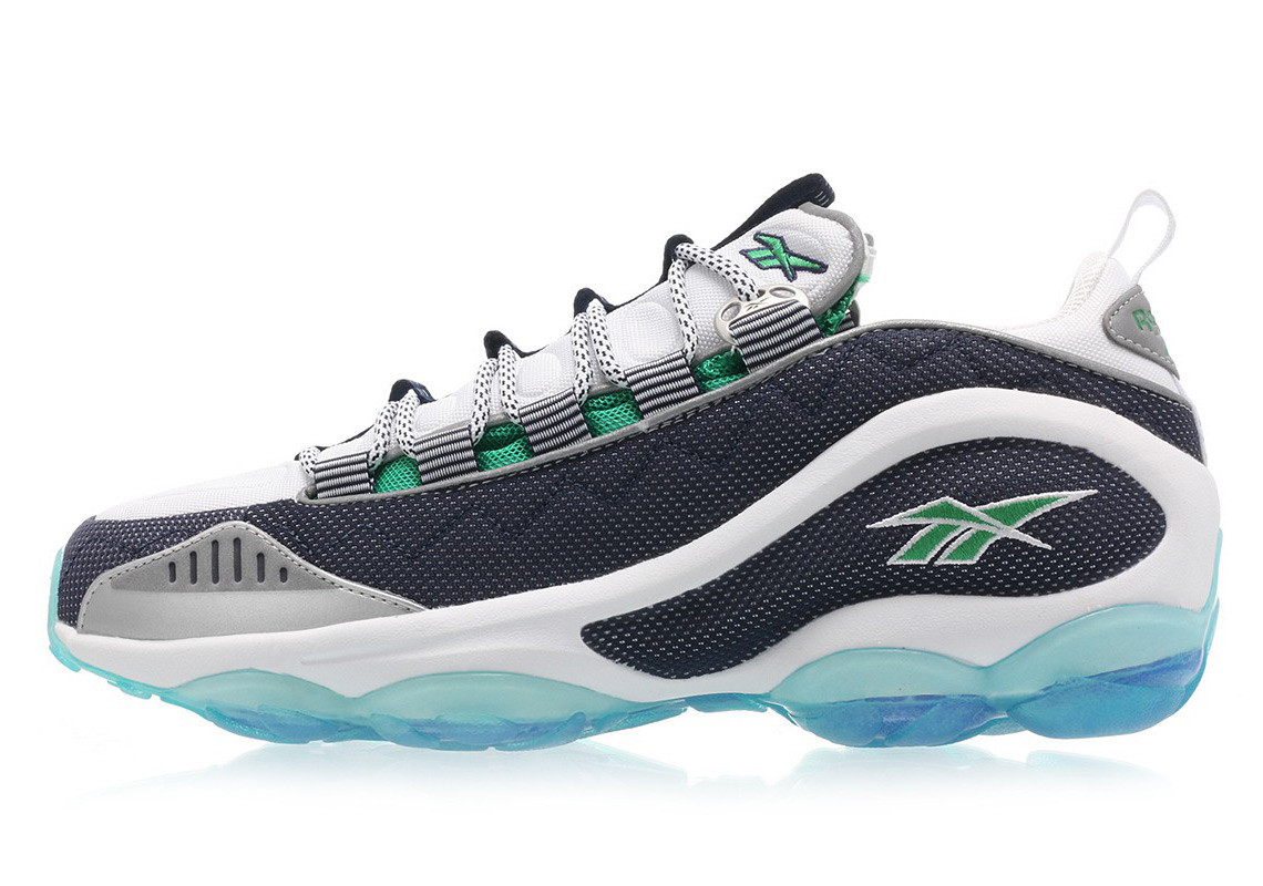 """7fc87c1156e The """"Infinite Blue"""" colorway revitalizes the classic silhouette with a  seamless mix of green"""