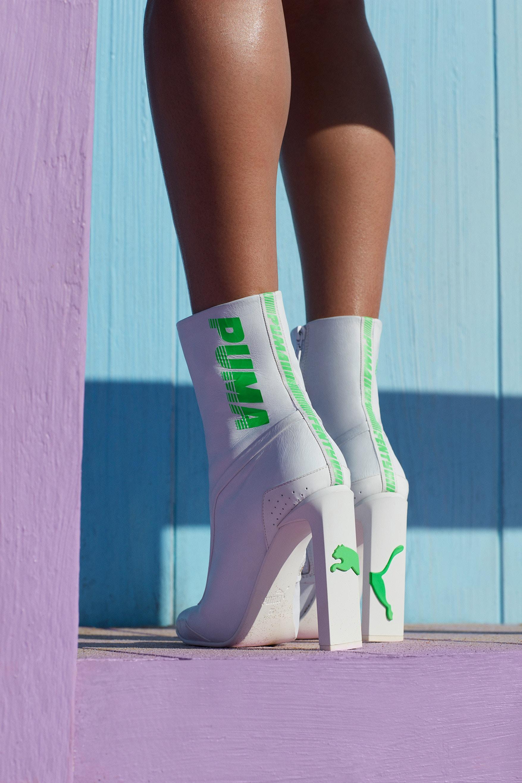 huge selection of 689cd daa53 Rihanna Gives a Closer Look at PUMA x Fenty Spring/Summer ...