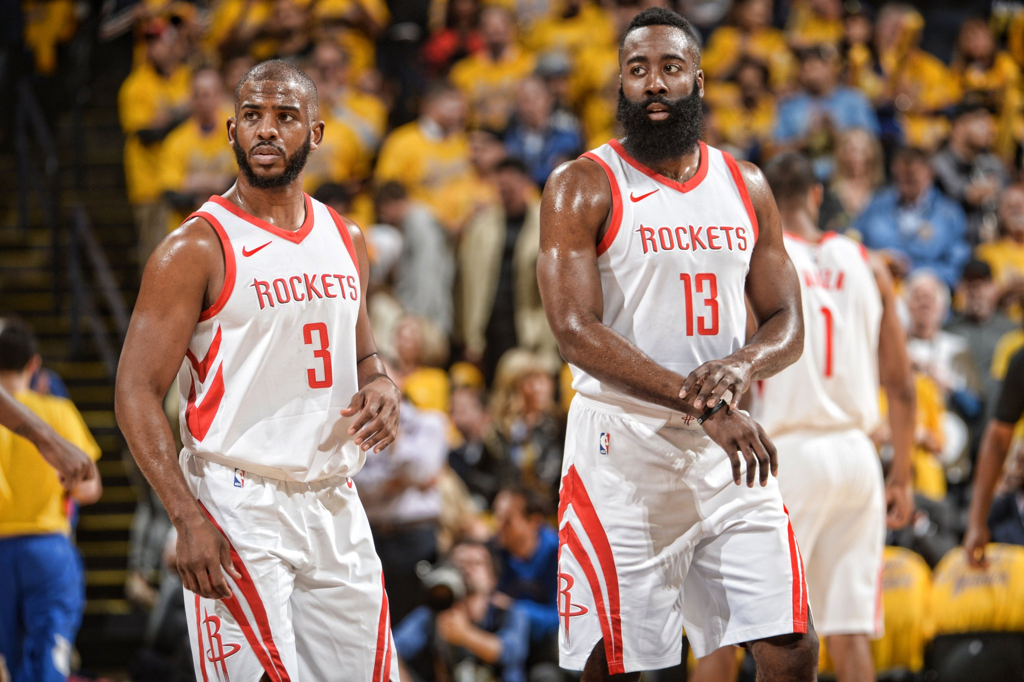 Rockets restore parity with narrow win