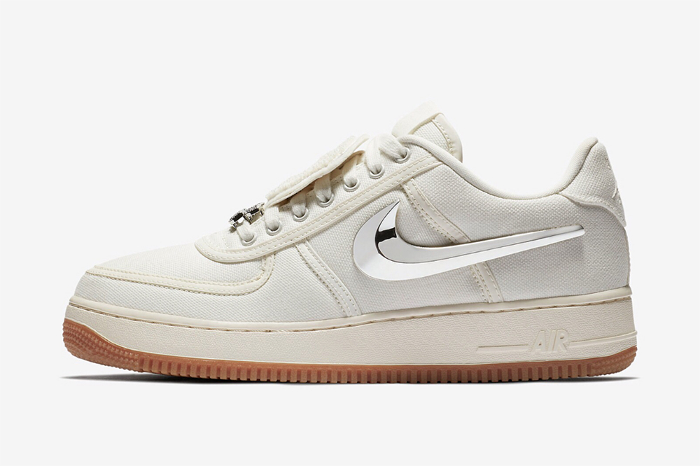 travis scott nike air force  sail release date price