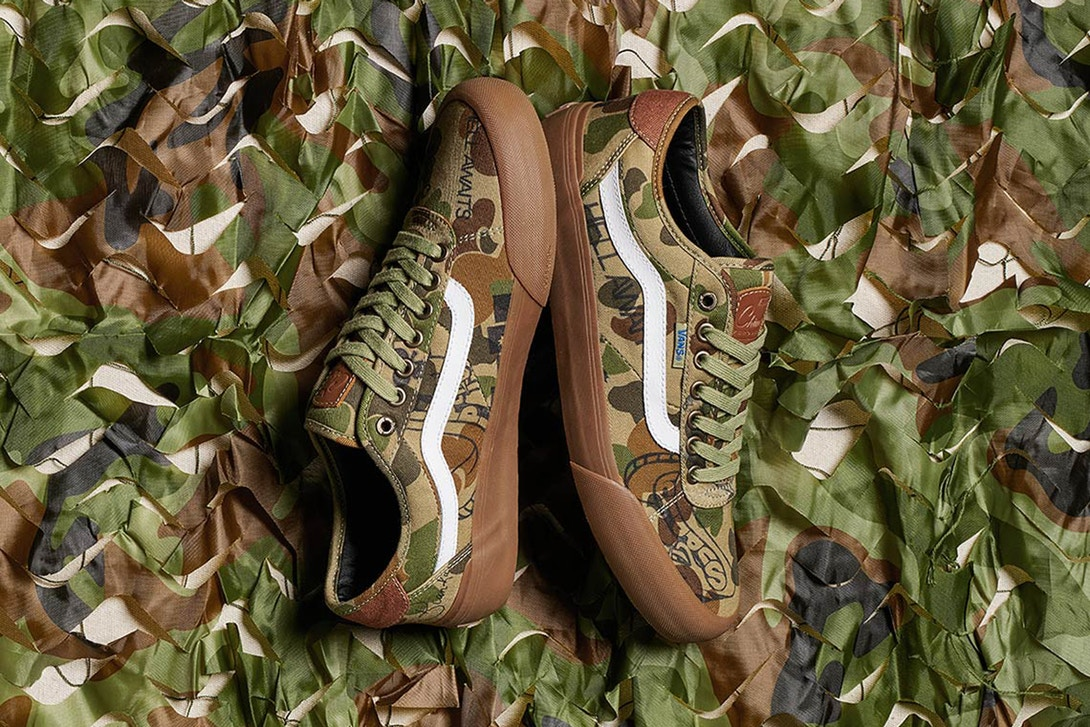 13f762f15d All Camo Everything  Supply x Vans Chima Pro 2  Camouflage