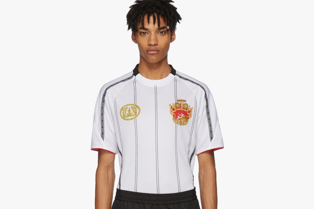 versace soccer jersey spring summer