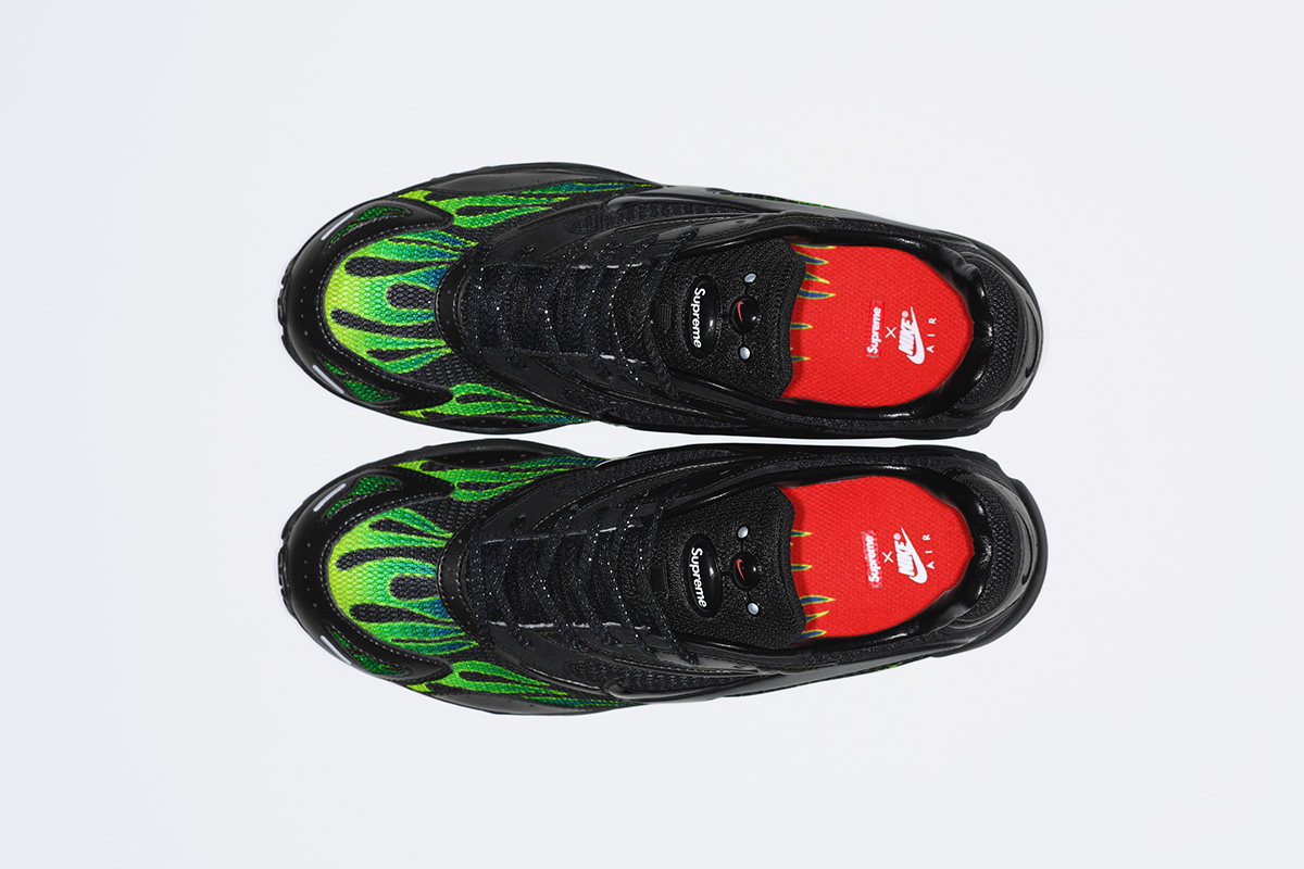 1fcf5824e770 Pick up the Supreme x Nike Air Streak Spectrum Plus collection either online  or at the Manhattan flagship