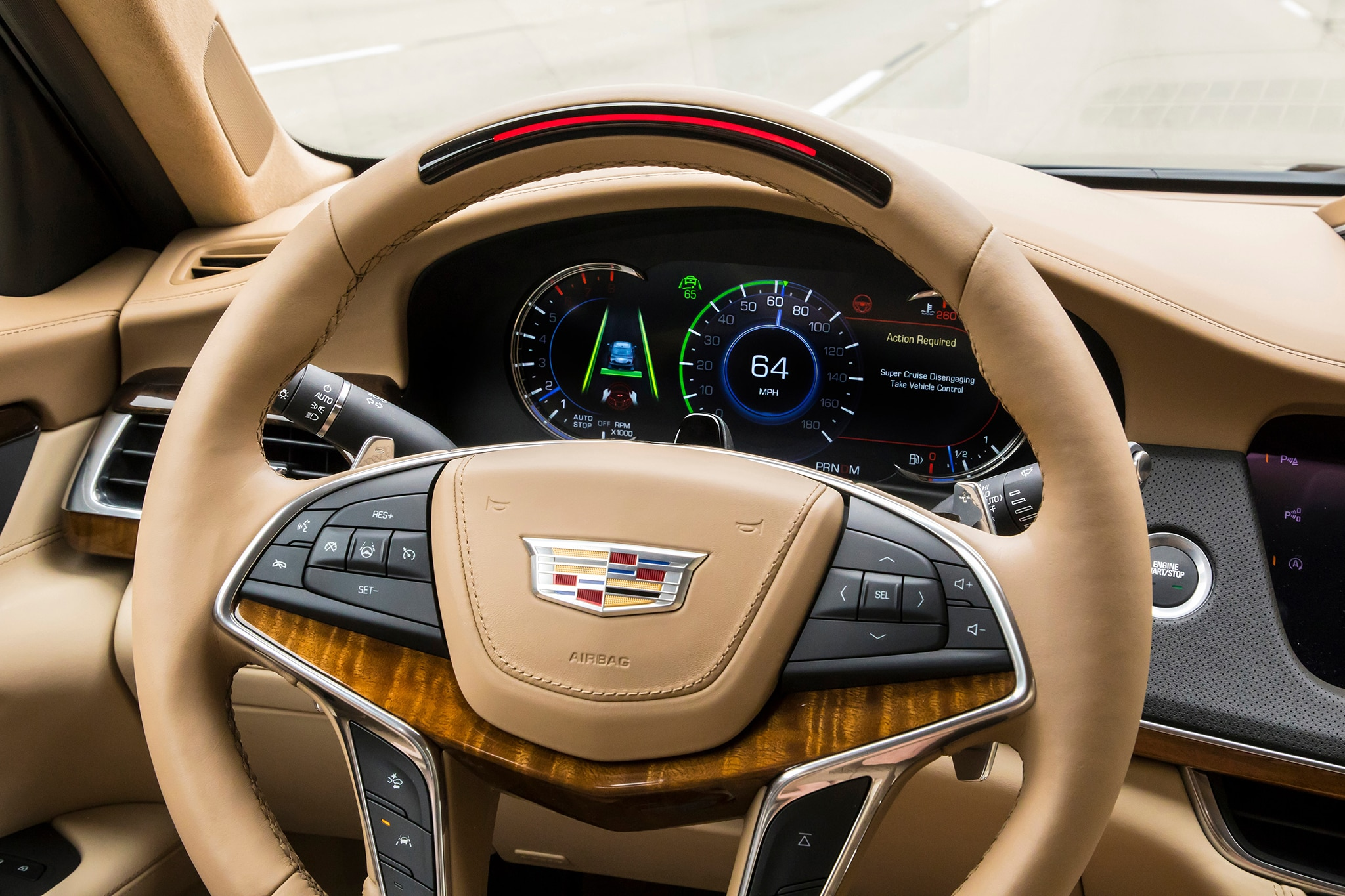 Cadillac CT with Super Cruise