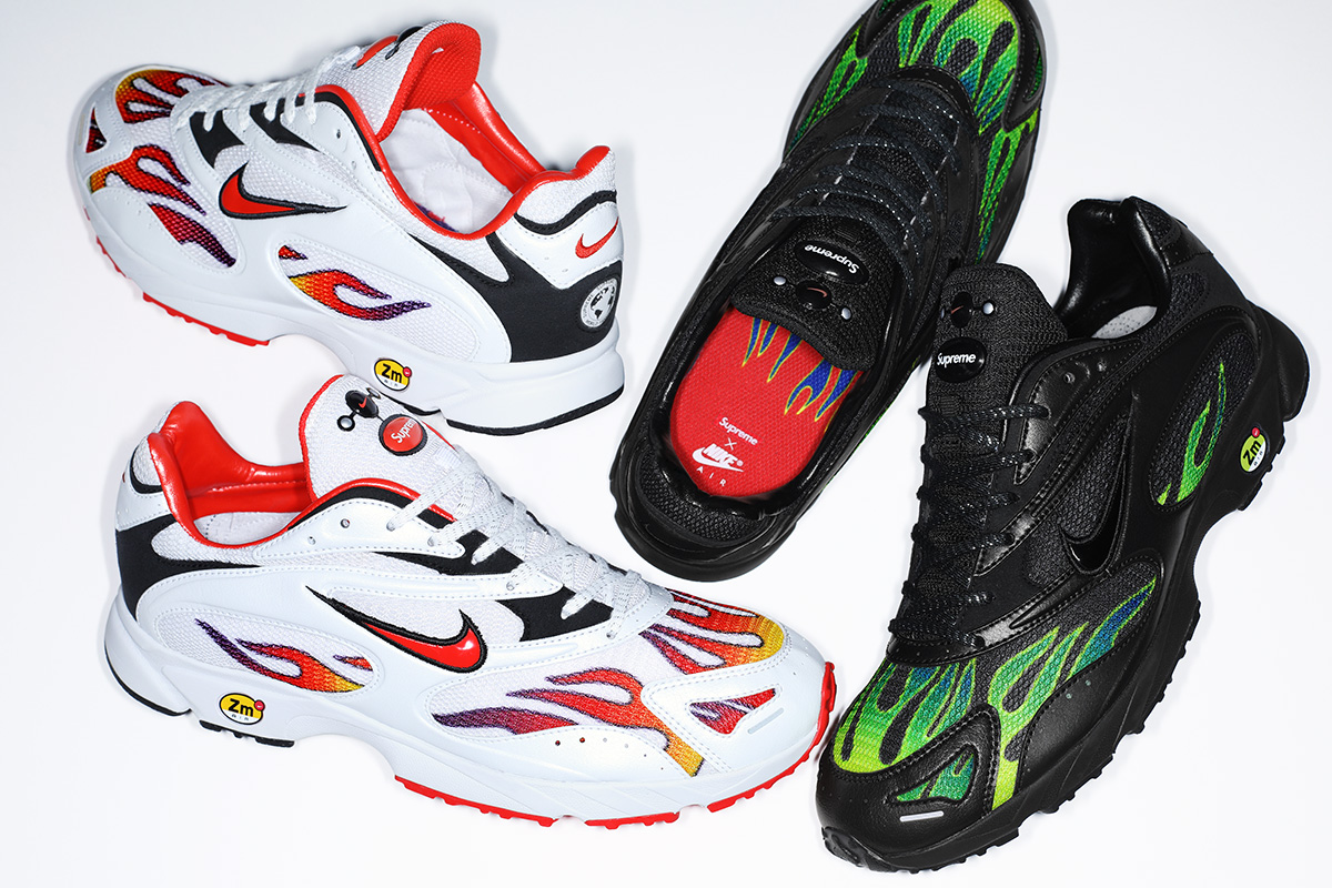 3243f32ec1bf Supreme and Nike Bring the Heat With a New Air Streak Spectrum Plus  Collection