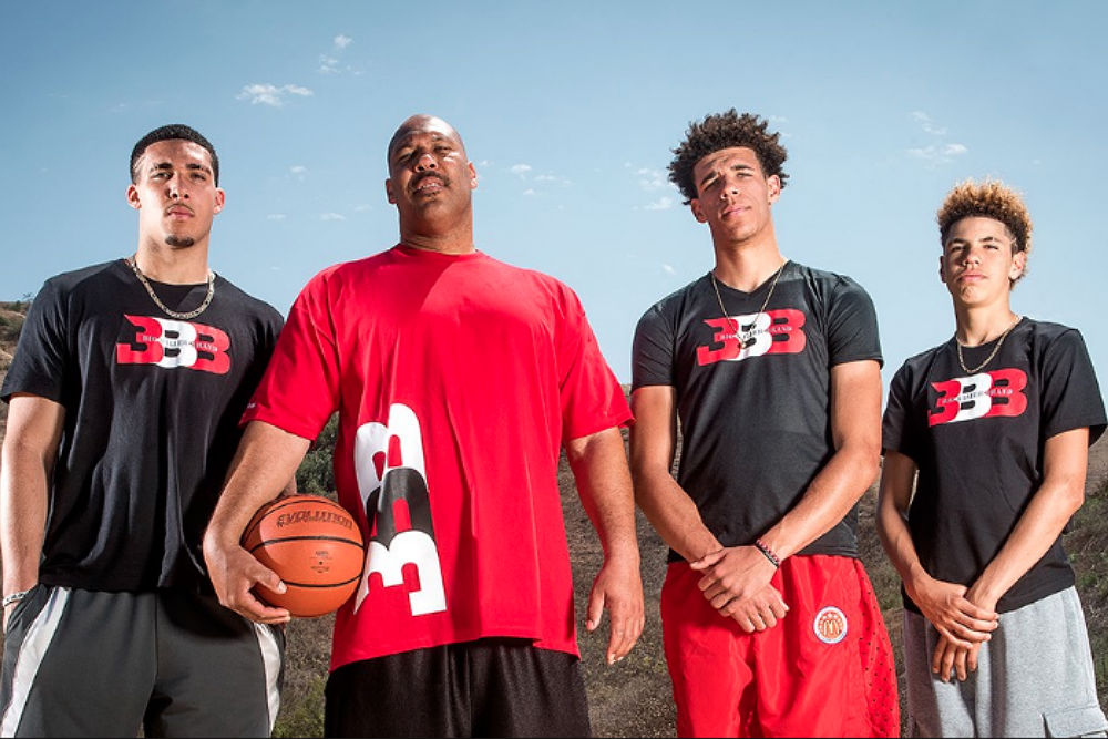 aa4d5769f29 Lonzo and The Entire Ball Family Cut Loose for  Ball in The Family  Promo  Video