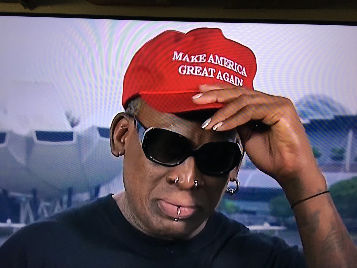Dennis Rodman Breaks Down Crying Over Trump and Kim Jong-Un's Meeting