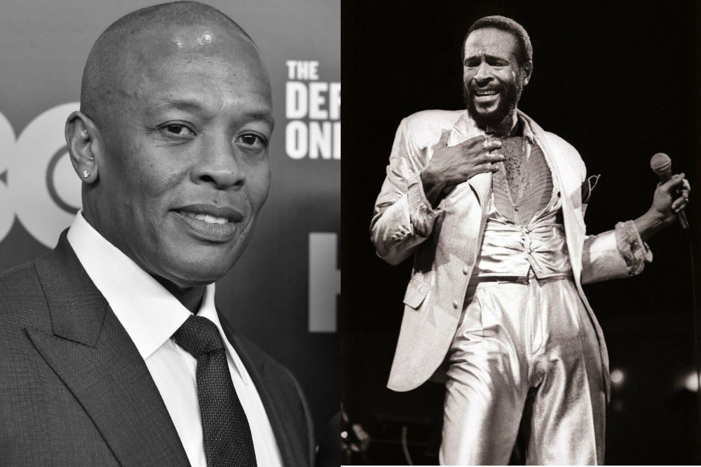 Dr Dre and Marvin Gaye