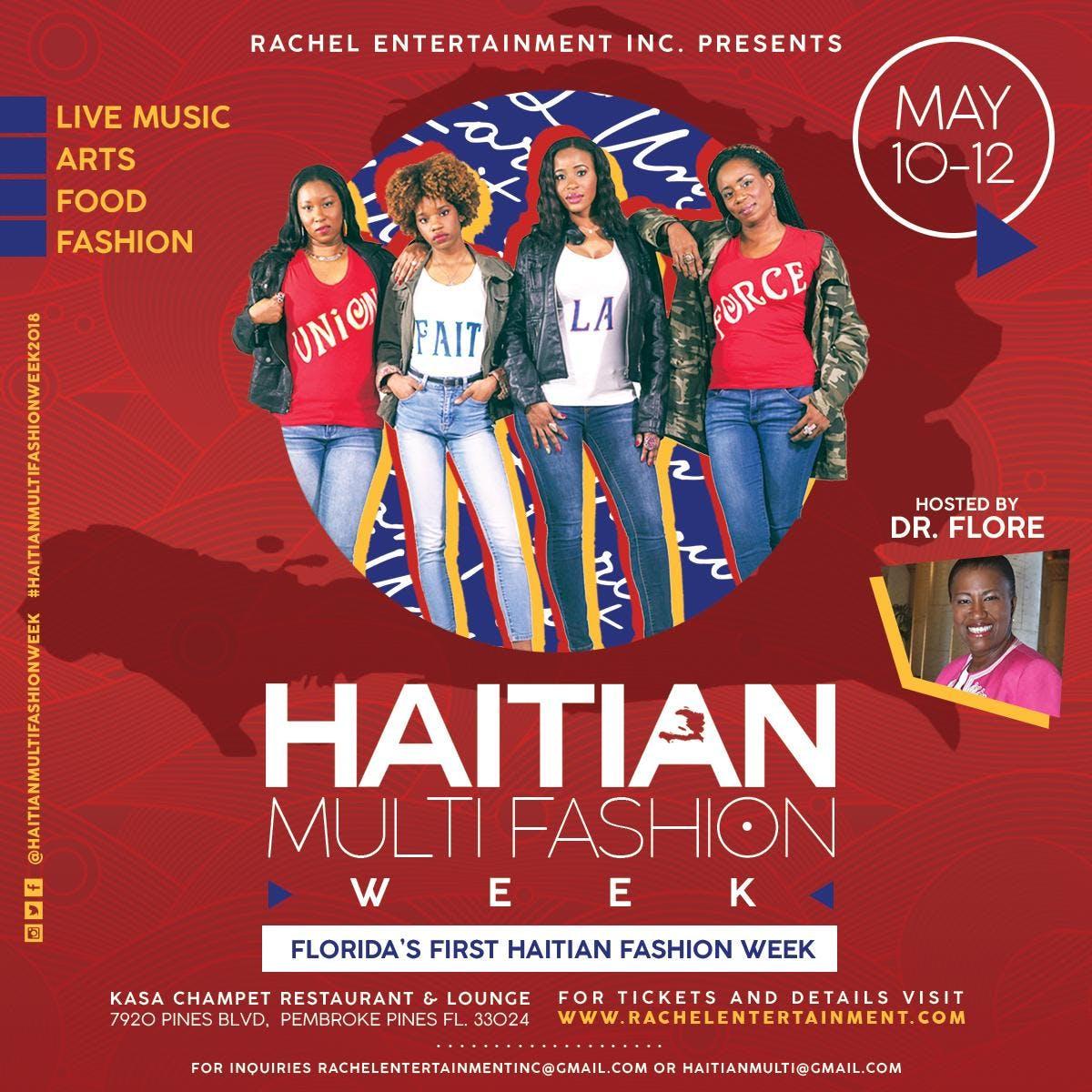 HaitianMulti FashionWeekFlyer