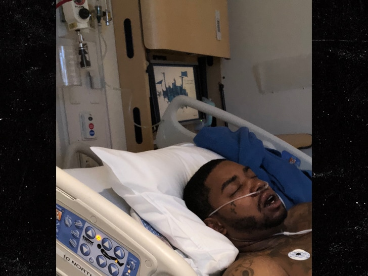 Lil Scrappy Hospitalized After Serious Car Crash