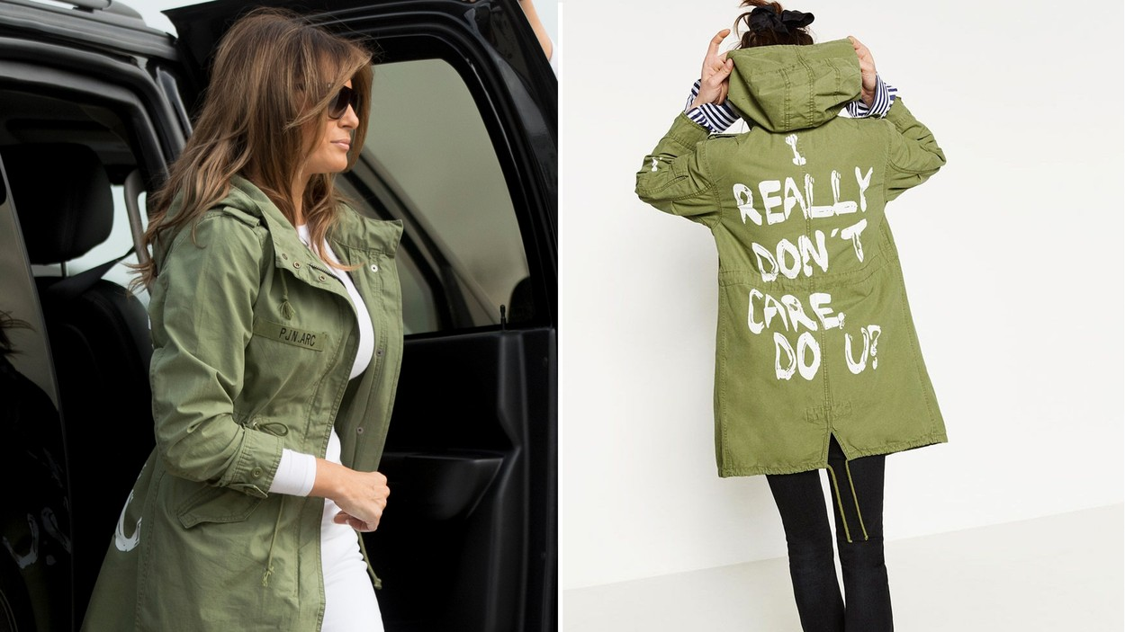 Melania Trump Sports Jacket That Reads 'I REALLY DON'T CARE' to Visit Border Detention Centers