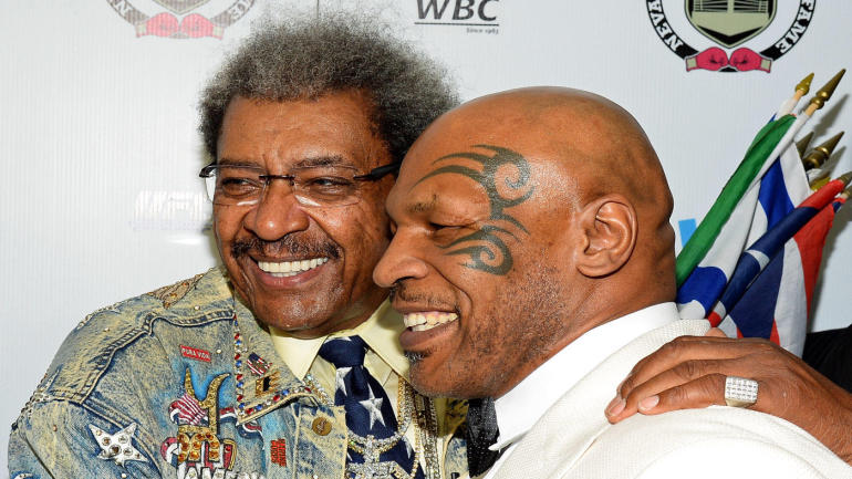 Mike Tyson Throws Water on Don King: 'We Ain't Friends'