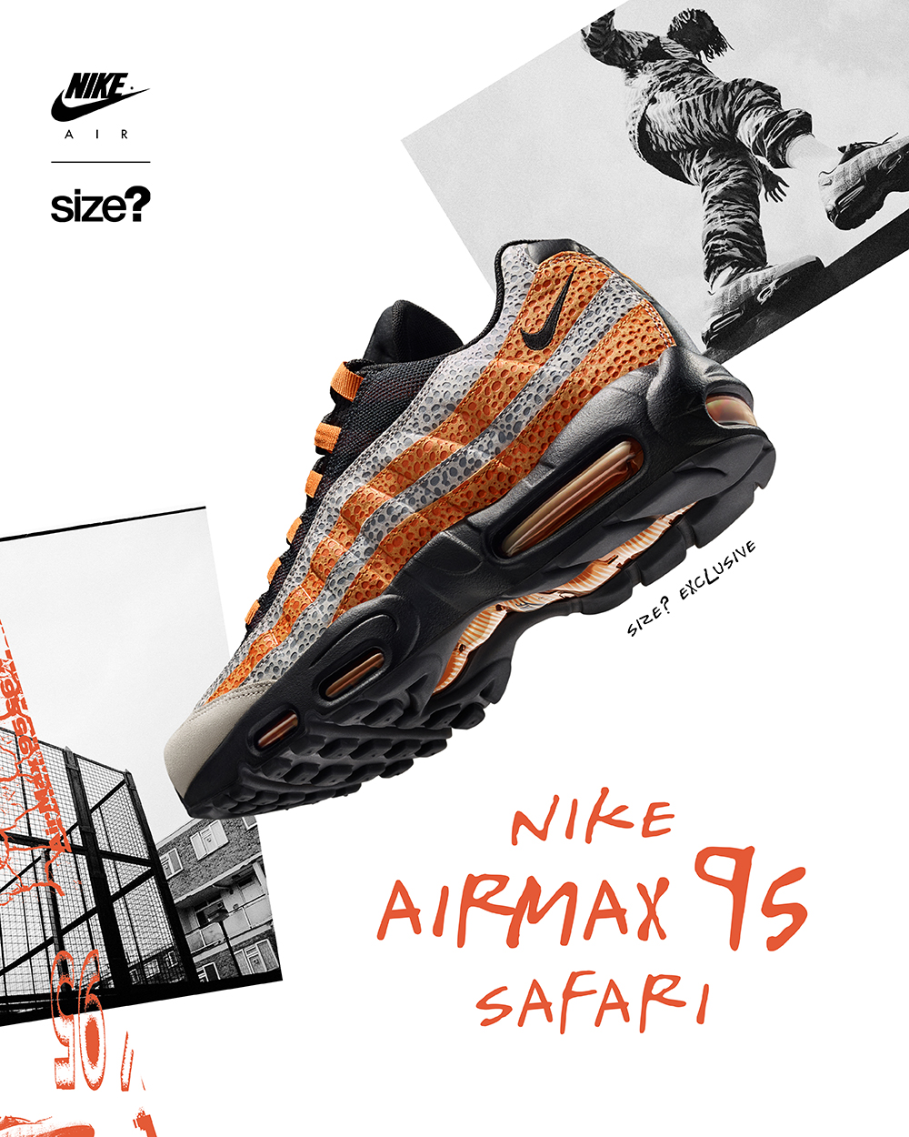 3d814f1edd4c42 size  and Nike Get Wild With the Air Max 95  Safari