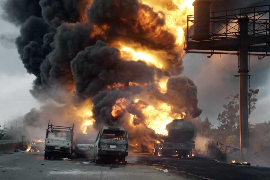Nigeria Oil Tank Explosion