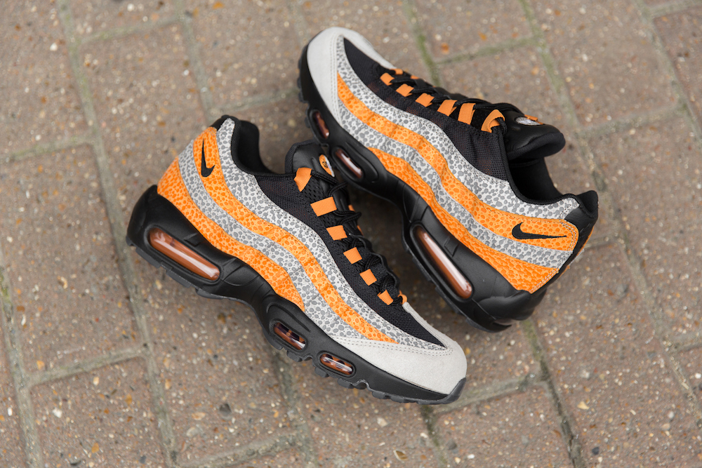 size? and Nike Get Wild With the Air Max 95 'Safari' | The