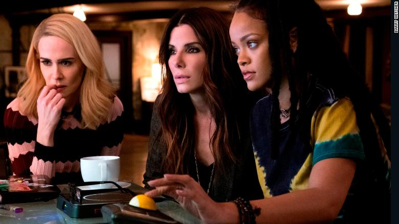 'Ocean's 8' Hits No. 1 at Box Office