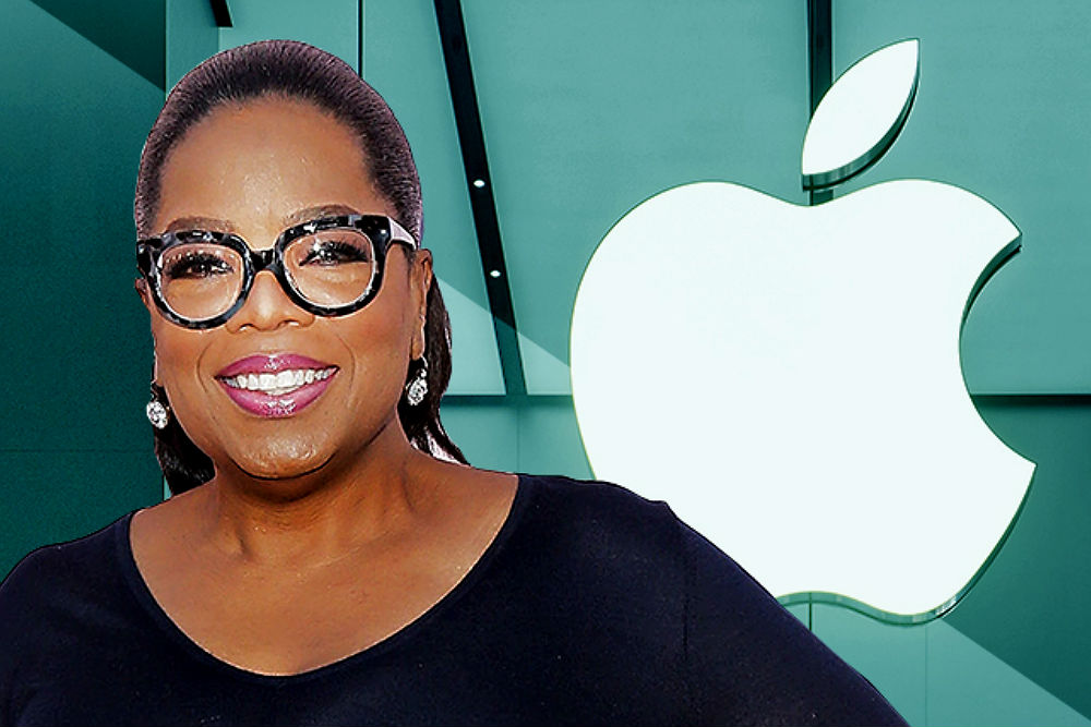 Oprah and Apple