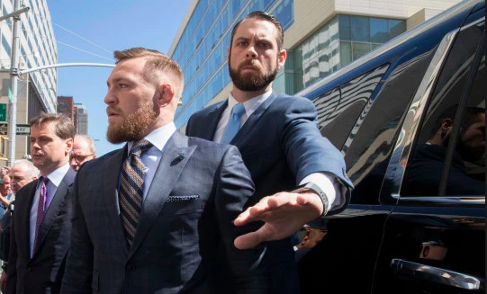 Conor McGregor's Alleged Mugshot From April Has Been Revealed
