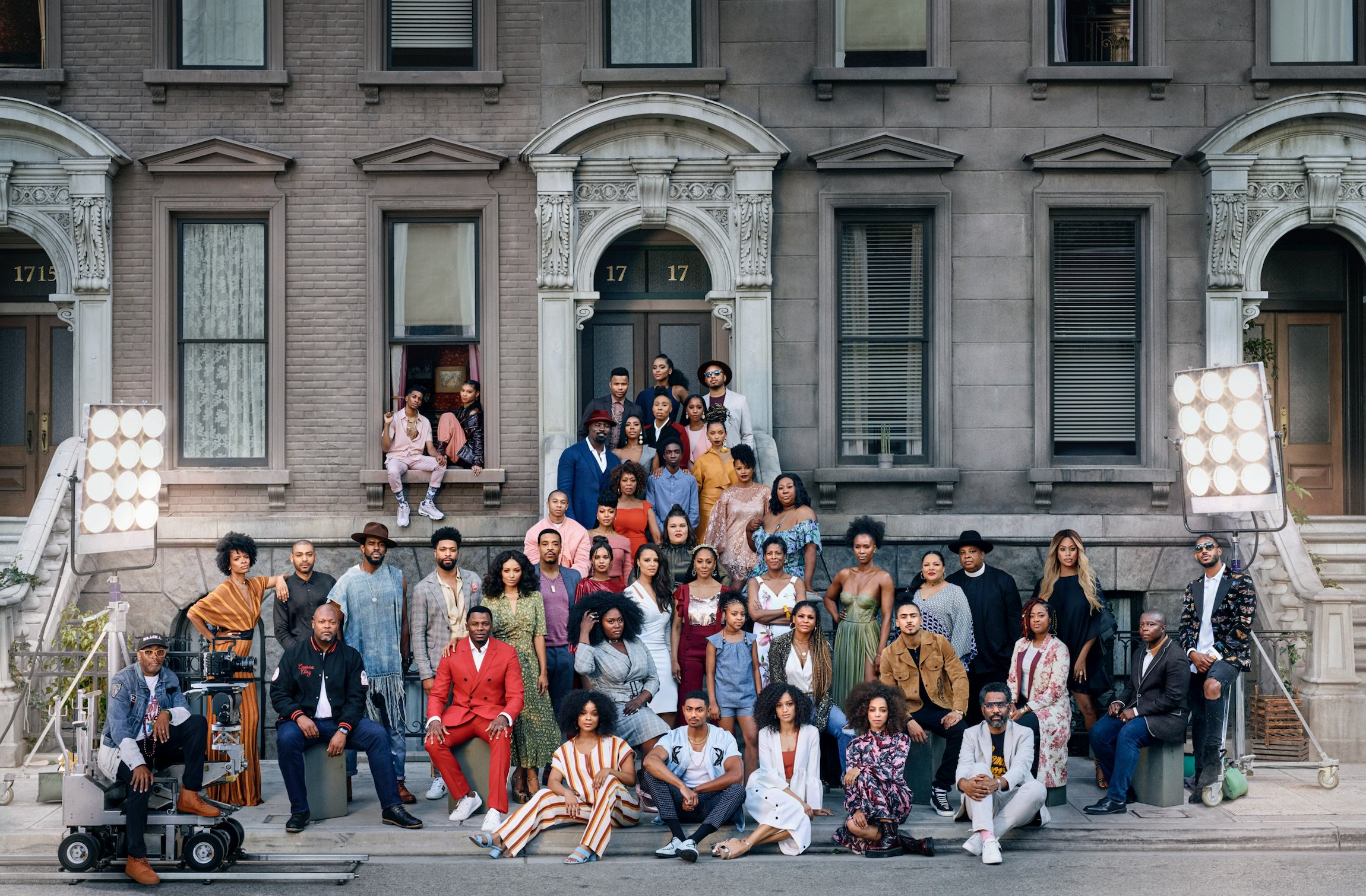 Spike Lee, Nia Long, Rev Run & More Recreate 'A Great Day In Harlem' Photo