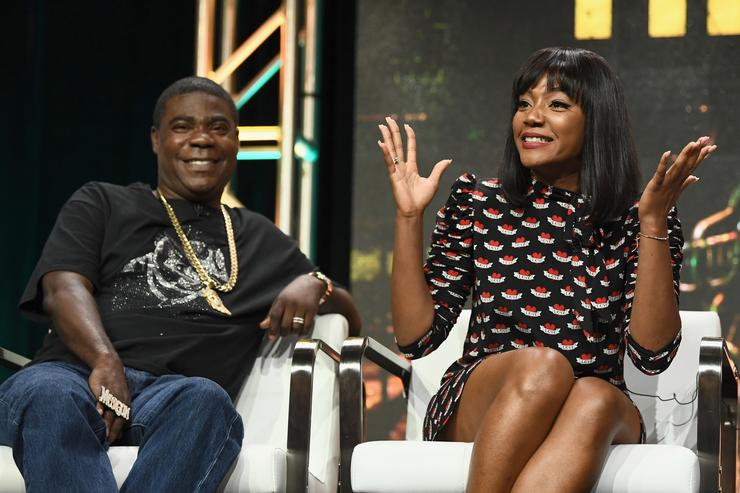 Tiffany Haddish is Unbothered by Tracy Morgan Shade: 'I Love Me Some Tracy'