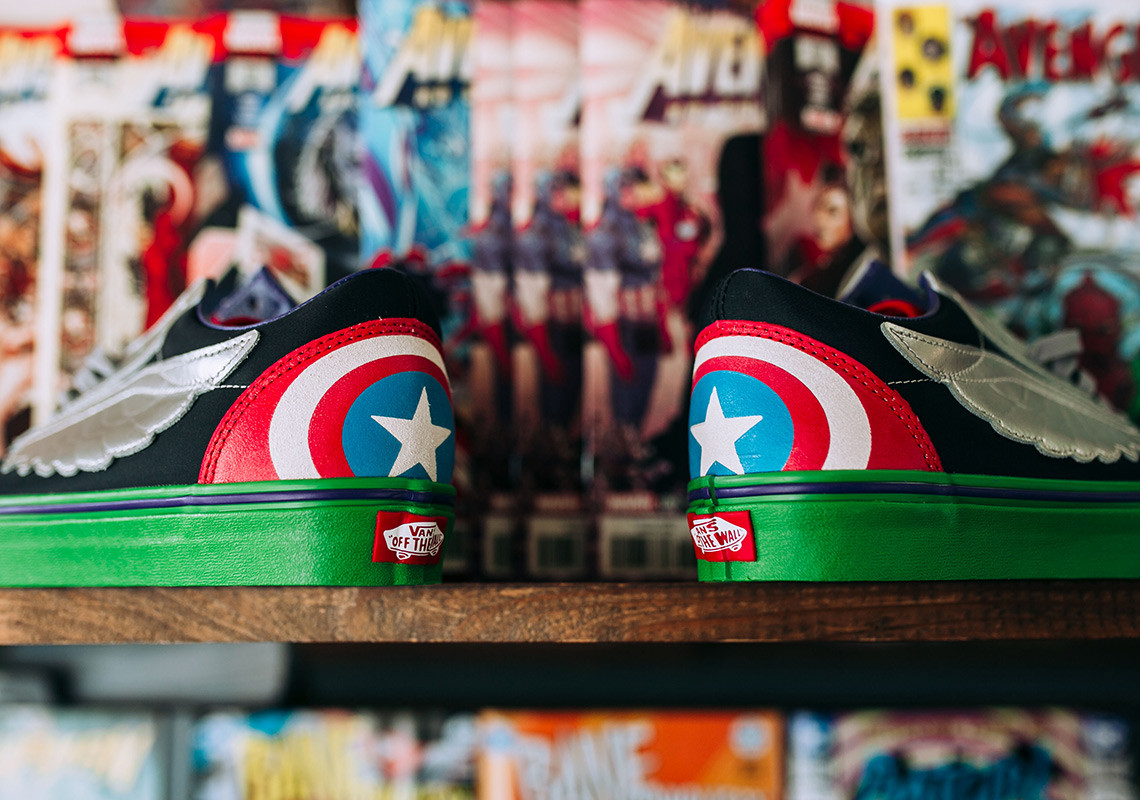 avengers vans old skool