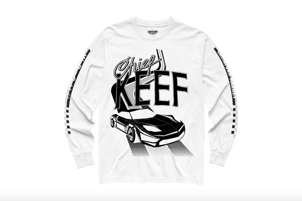 8e0a481973b Shop Chief Keef s new merch collab with WeBuyGold and Chinatown Market  right now in the latter brand s online shop.