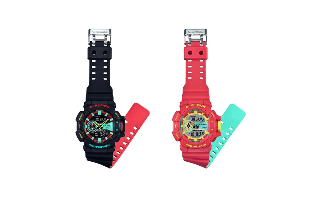 g shock breezy rasta color collection
