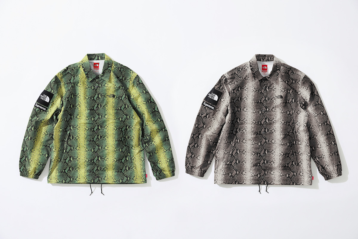 729f3bc26 Supreme and The North Face Slither Into Summer With Another Capsule ...