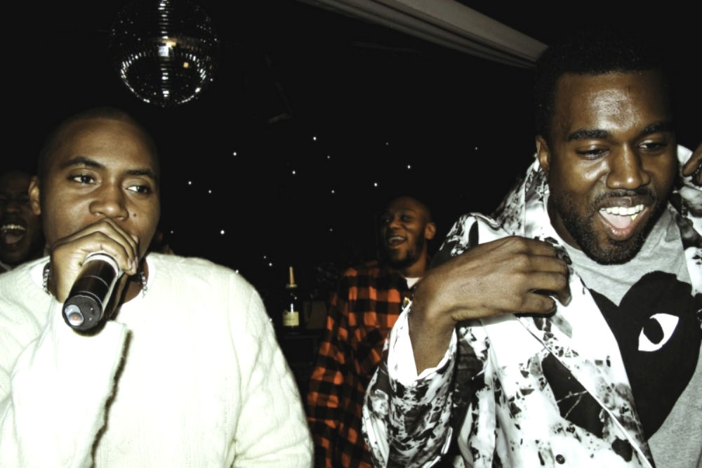 kanye west and nas