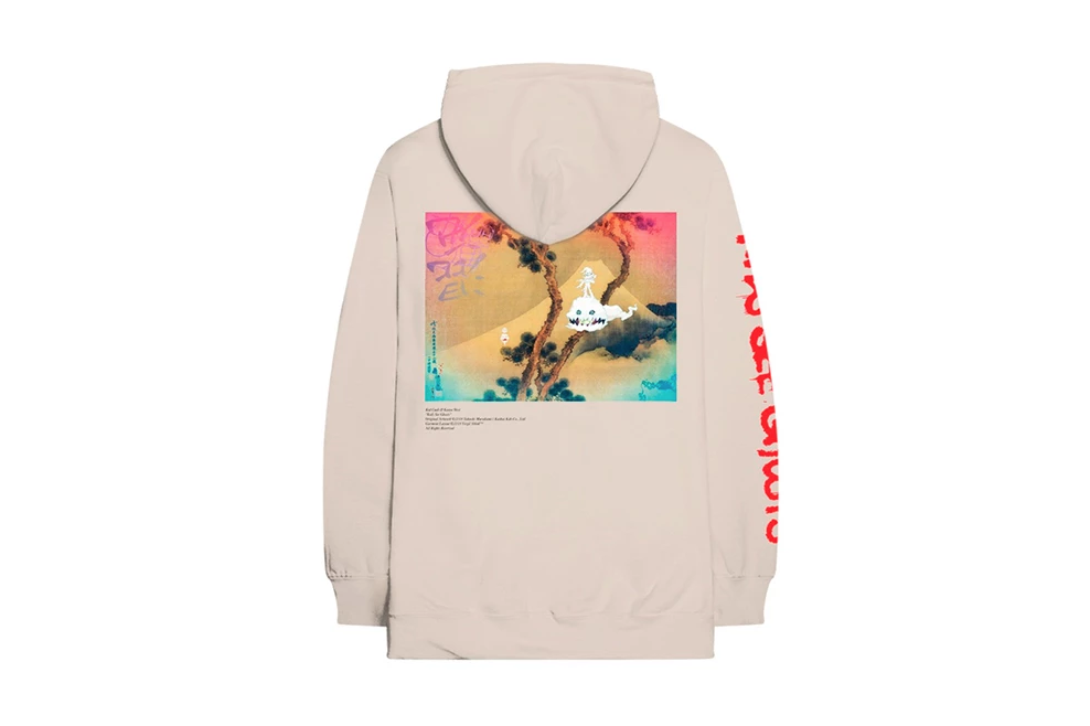 kanye west kid cudi kids see ghosts la listening party merch