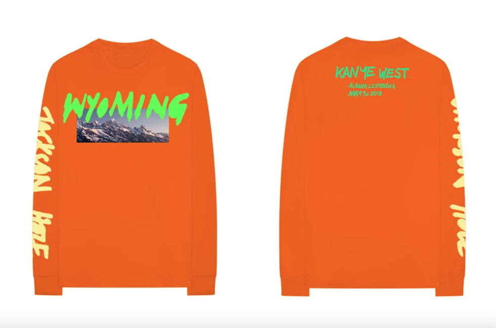 Shop Kanye West's 'ye' Listening Party Merch Right Now | The Source