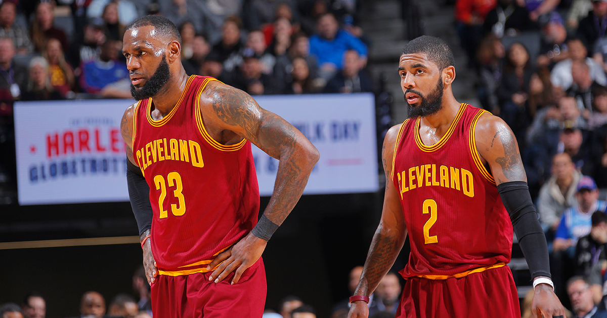 kyrie irving lebron james trade fb