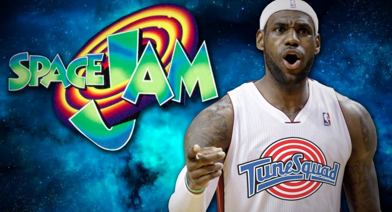 lebron space jam reveal