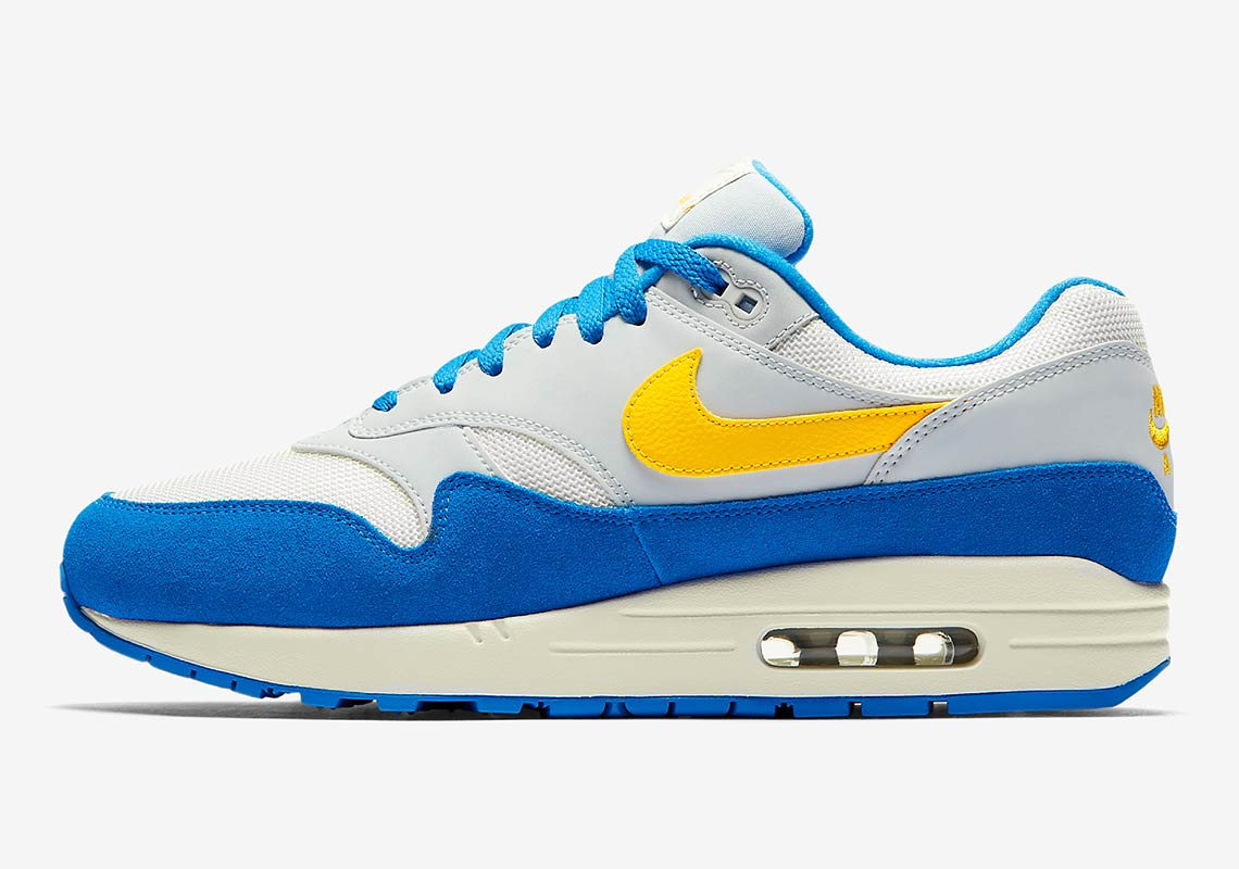 nike air max  blue yellow ah