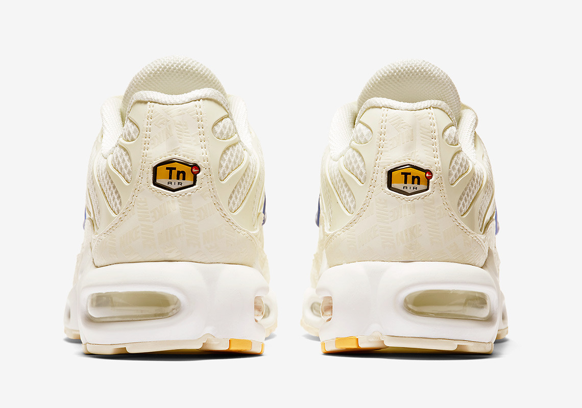 ae6b62fcf291 This latest Air Max Plus is consistent with the classic stylings of the  original model. Dressed in a delicate tan