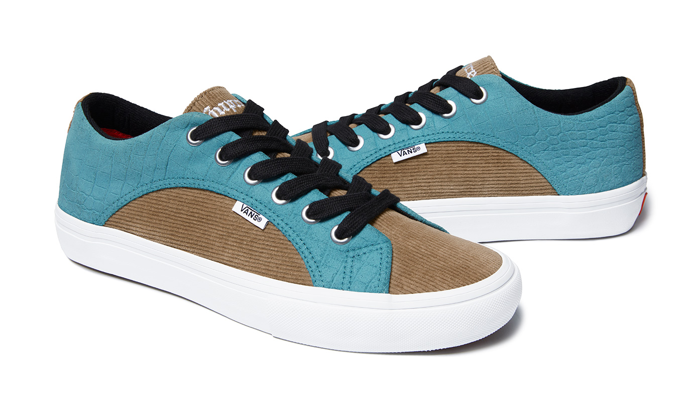 Supreme Reworks the Vans Lampin and Sk8 Mid Silhouettes for