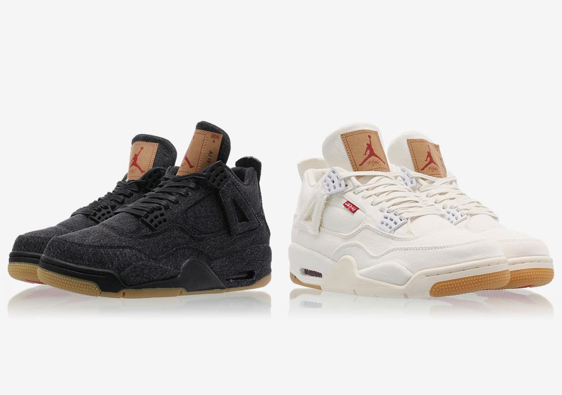 25f06a7bbd7a Reminder  Levi s x Air Jordan 4 Officially Drops Tomorrow