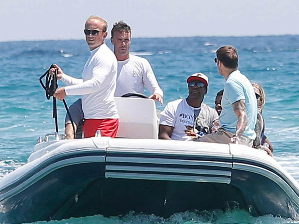 Chris Tucker Spotted On Vacation In St. Tropez While On Delinquent Taxpayers List